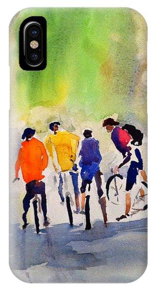 Nicasio Bikers IPhone Case