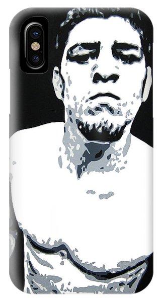 Nick Diaz 2 IPhone Case