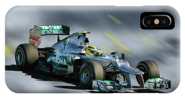 Nico Rosberg Mercedes Benz IPhone Case