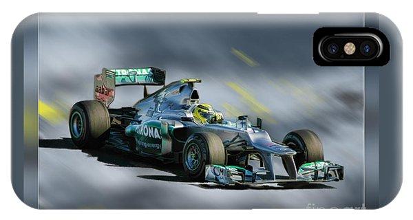 Nico Rosberg Mercedes Benz IPhone Case