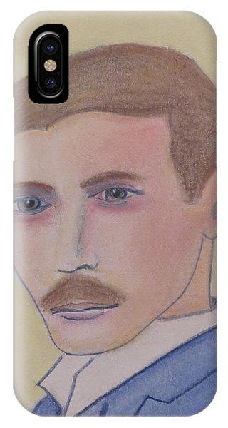 Nikola Tesla Mad Scientist IPhone Case