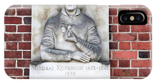 Pomeranian iPhone Case - Nicolaus Copernicus by Photostock-israel