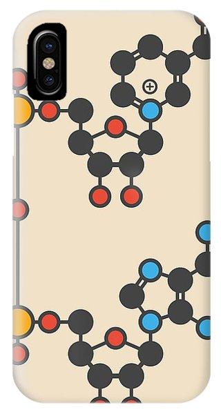 Nicotinamide Molecule IPhone Case