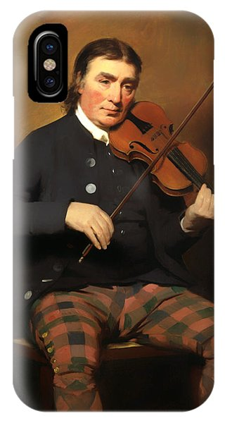 Violin iPhone X Case - Niel Gow - Violinist And Composer by Mountain Dreams