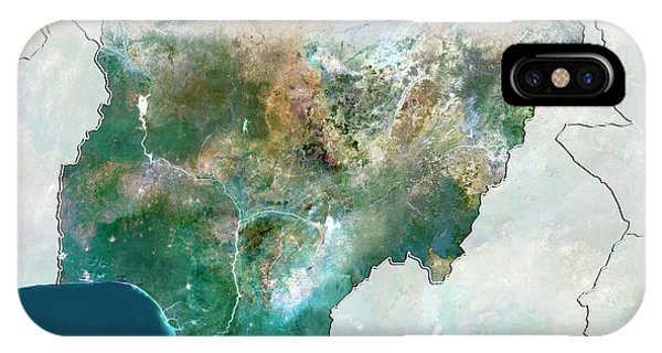 Nigeria Phone Case by Planetobserver/science Photo Library