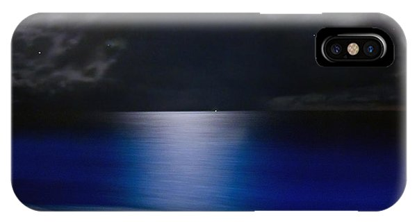 Night And Water IPhone Case