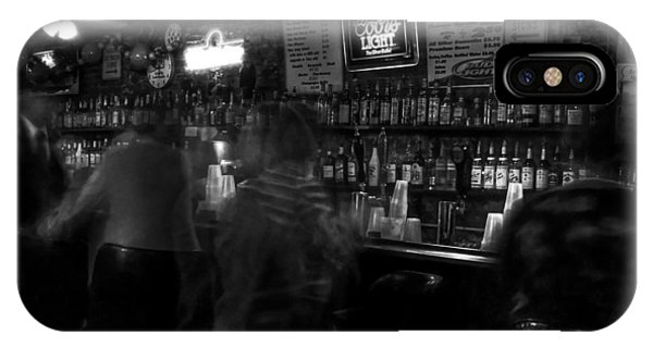 Night At A French Quarter Bar IPhone Case