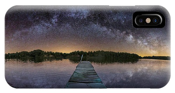 Night At The Lake  IPhone Case