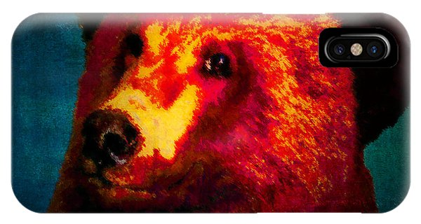 Night Bear 2 IPhone Case