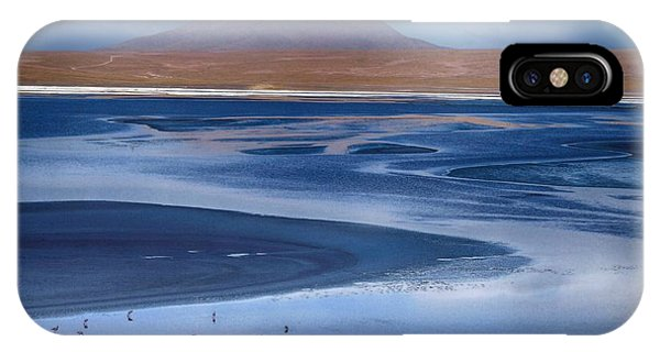 Laguna Colorada - Night Blue IPhone Case