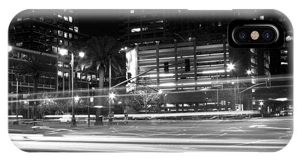 Night Blurs IPhone Case