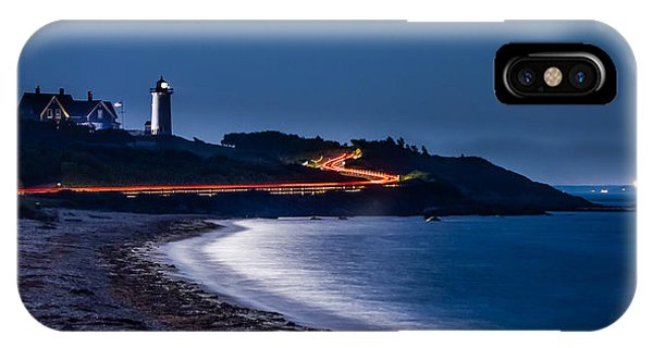 Night Drive To Nobska IPhone Case