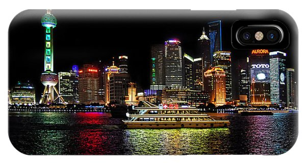 Night In Pudong IPhone Case