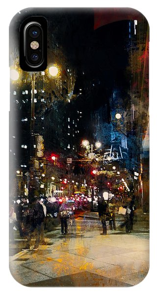 Night In The City IPhone Case