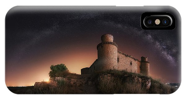 Castle iPhone Case - Night In The Old Castle by Iv?n Ferrero
