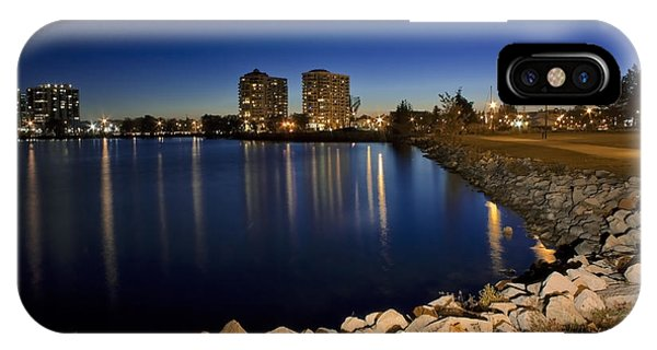 Night Light In Barrie IPhone Case