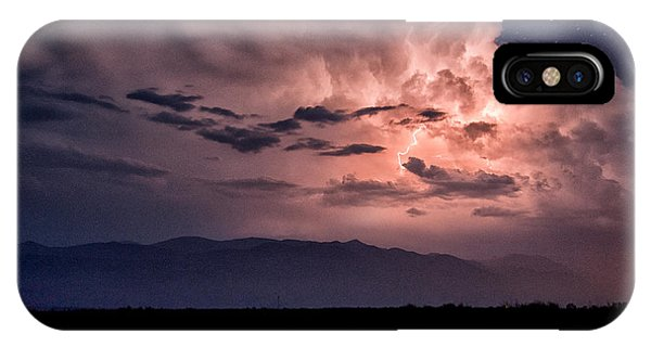 Night Lightning IPhone Case