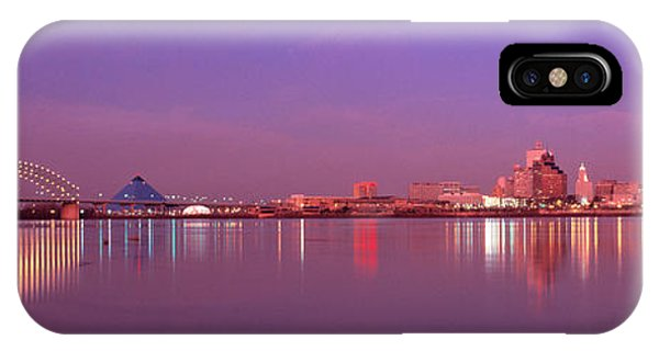 iPhone Case - Night Memphis Tn by Panoramic Images