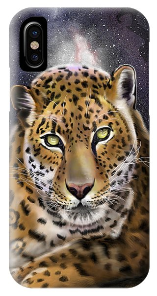 Fourth Of The Big Cat Series - Leopard IPhone Case
