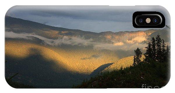 Night On Cougar Mountain Series Viii IPhone Case