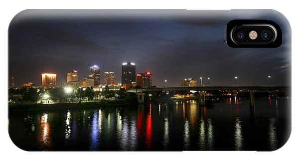 Night On The Junction Bridge IPhone Case