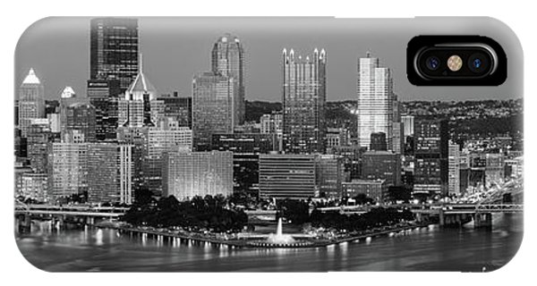 iPhone Case - Night, Pittsburgh, Pennsylvania by Panoramic Images