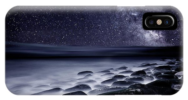 Seascape iPhone Case - Night Shadows by Jorge Maia