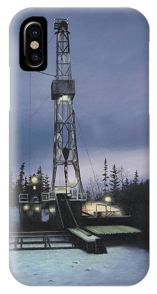 IPhone Case featuring the painting Night Shift by Tammy Taylor