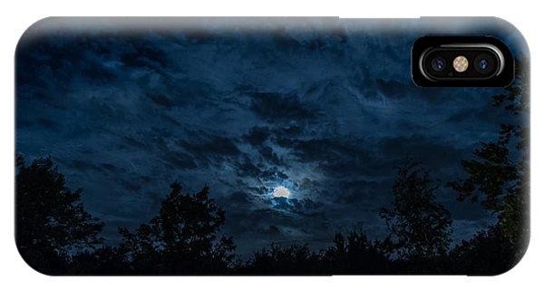 Night Sky - Autumn 2 IPhone Case