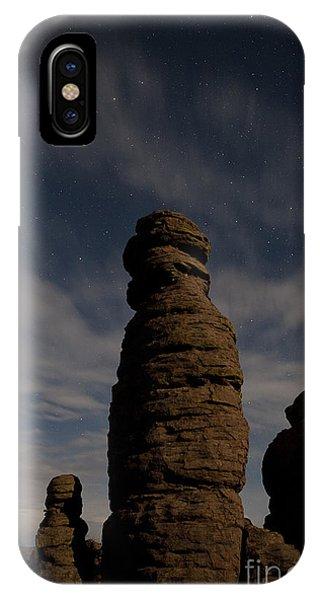 Night Sky Over Chiricahua IPhone Case