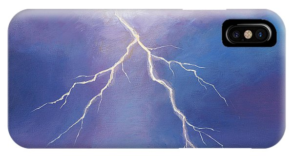 New Mexico iPhone Case - Night Strike by Johnathan Harris