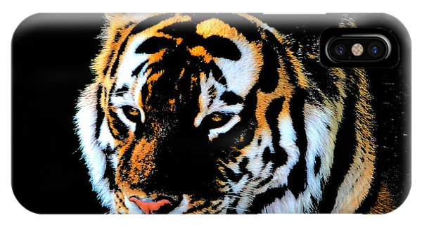 Night Tiger IPhone Case