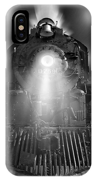 Night Train On The Move IPhone Case