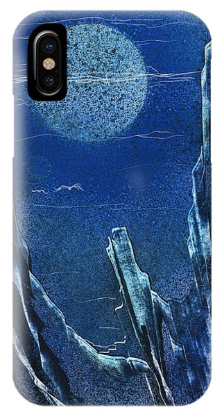 IPhone Case featuring the painting Night Vision by Jason Girard