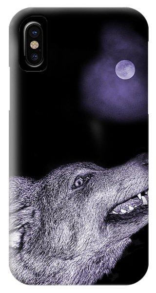 Night Wolf IPhone Case
