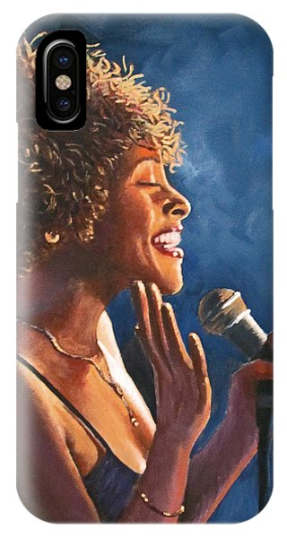 Nightclub Singer IPhone Case
