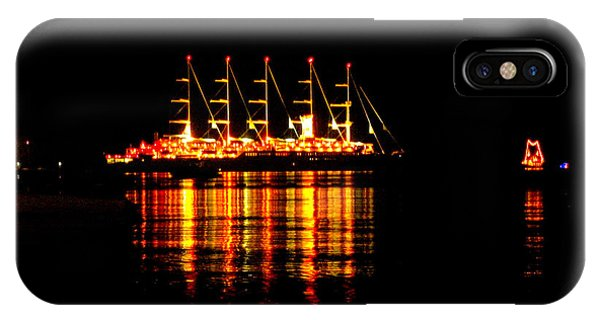 Nightlife On The Water IPhone Case