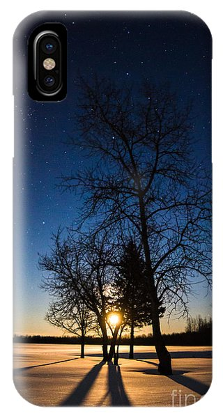 Night's Shadows IPhone Case