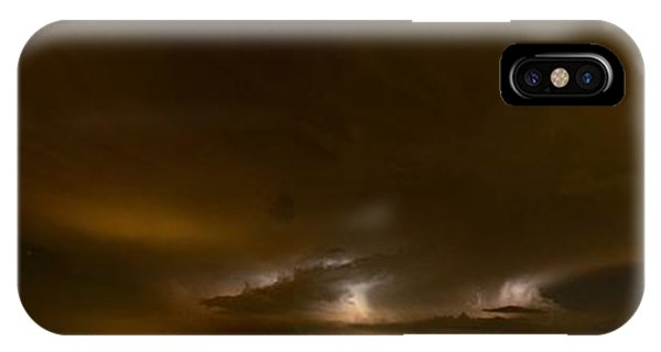 Nighttime Panoramic IPhone Case