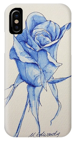 Niki's Rose IPhone Case