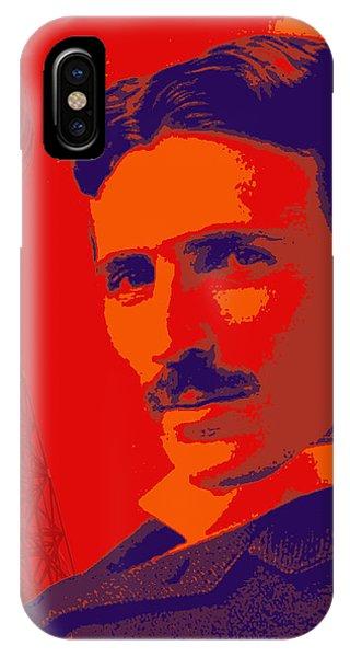 Nikola Tesla #1 IPhone Case