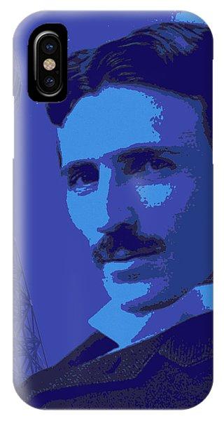 Nikola Tesla #2 IPhone Case