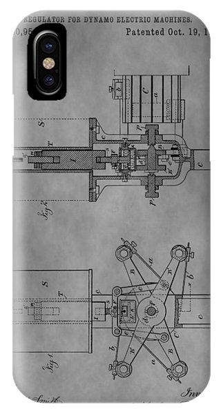 Nikola Tesla's Patent IPhone Case