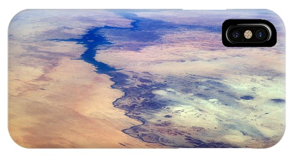 International Space Station iPhone Case - Nile River From The Iss by Science Source