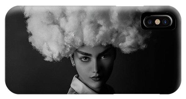 Hair iPhone Case - Nilofar by Amin Hamidnezhad