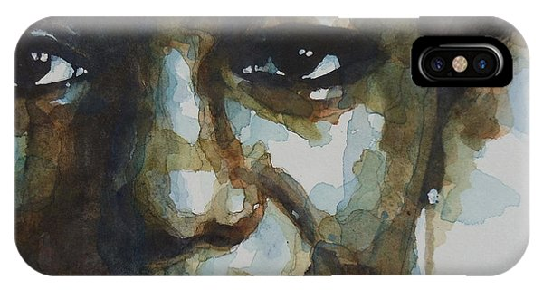 Rights iPhone Case - Nina Simone Ain't Got No by Paul Lovering