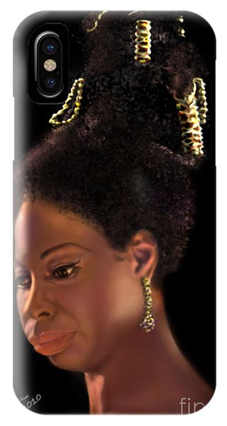 Nina Simone IPhone Case