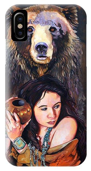 Nine Stars Woman - Bear Medicine IPhone Case