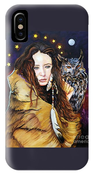 Nine Stars Woman / Owl Medicine IPhone Case