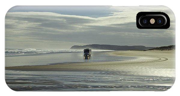 Ninety Mile Beach New Zealand IPhone Case
